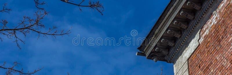 Eave del tetto immagine stock