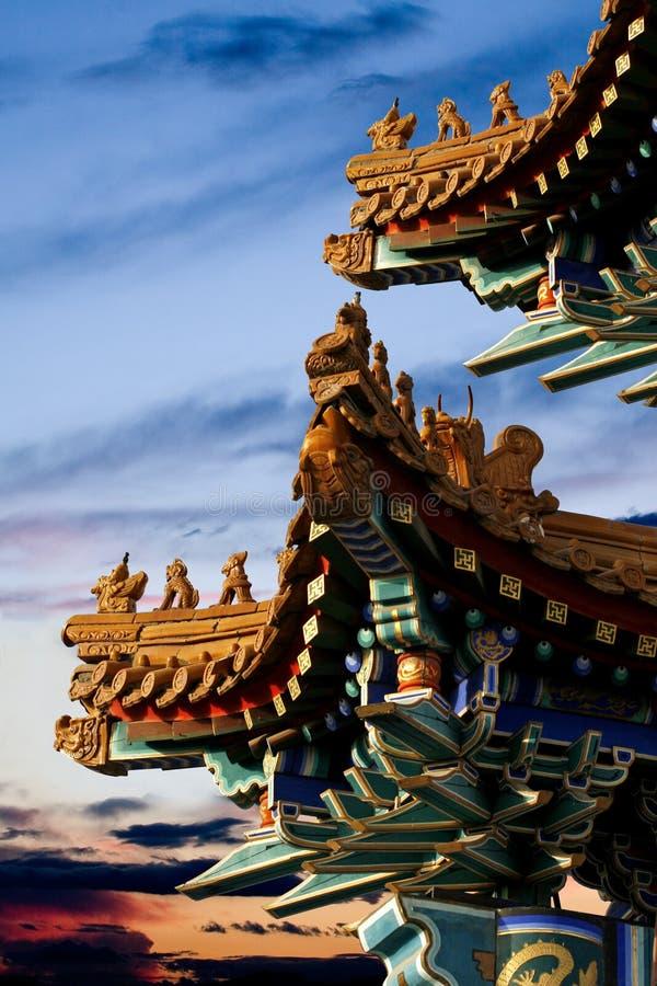 eave imperial palace στοκ εικόνες