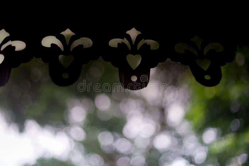 eaves royaltyfri fotografi