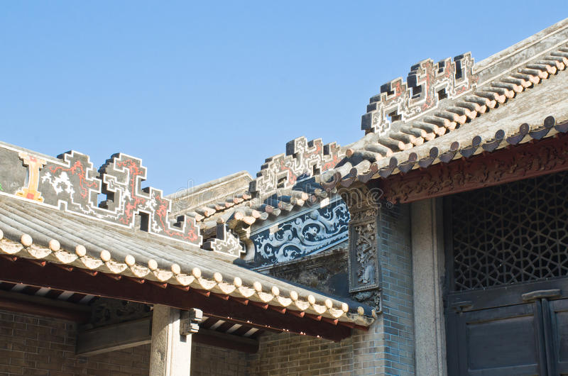 Eaves chineses imagens de stock royalty free