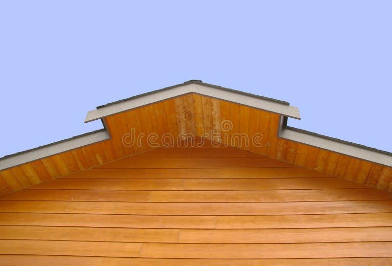 Eaves superiores do telhado fotos de stock royalty free