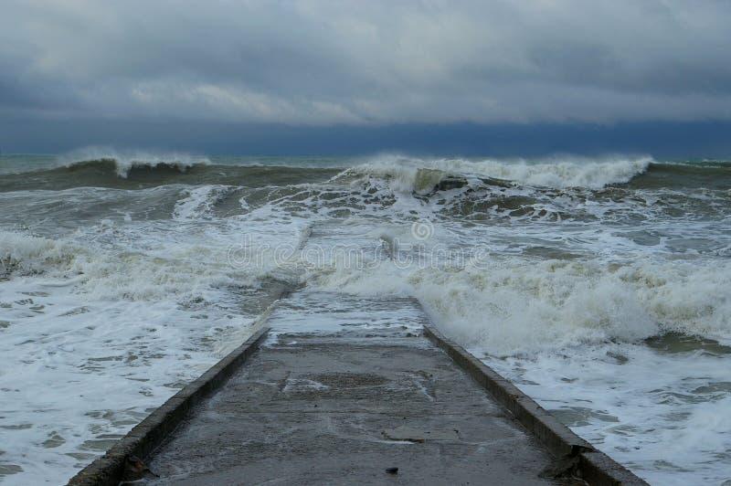 eavy шторм стоковое фото