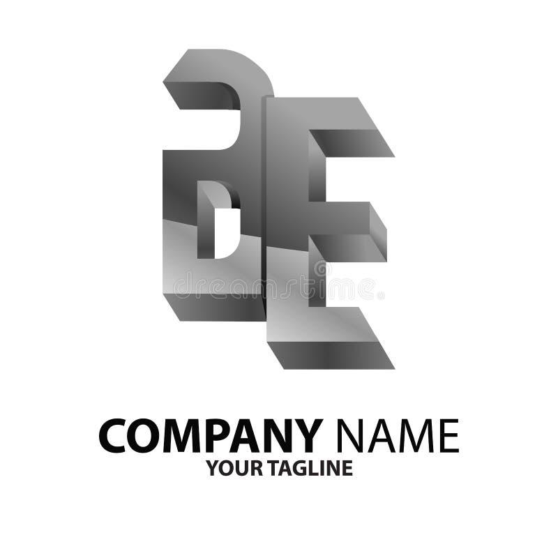 Download EB, Van B En E-embleemconcept Vector Illustratie - Illustratie bestaande uit logotype, overlapping: 114227122