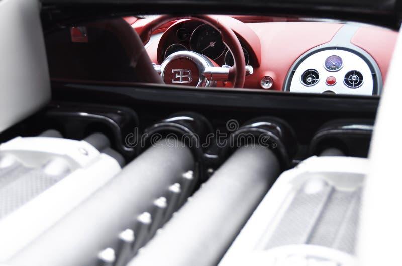 eb-veyron för bugatti 4 16 royaltyfri bild