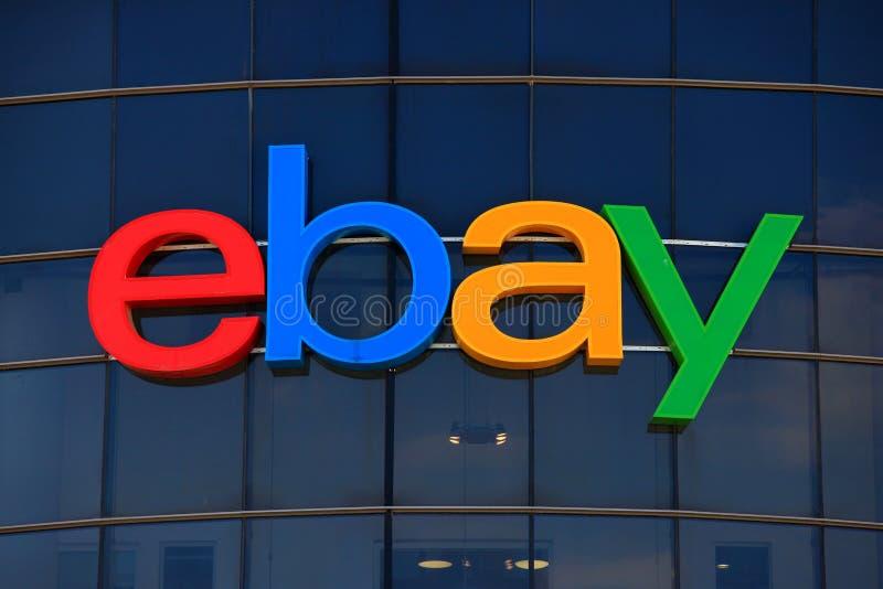 ebay logo obraz royalty free