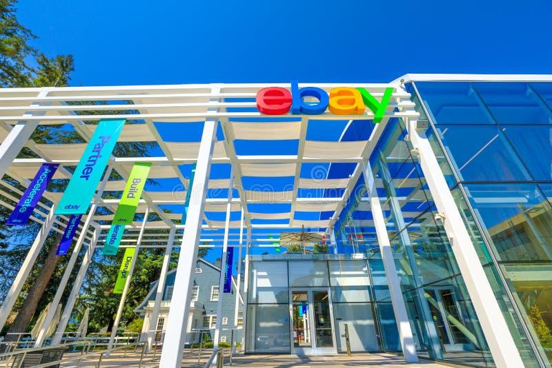 Ebay San Jose Καλιφόρνια στοκ φωτογραφία με δικαίωμα ελεύθερης χρήσης