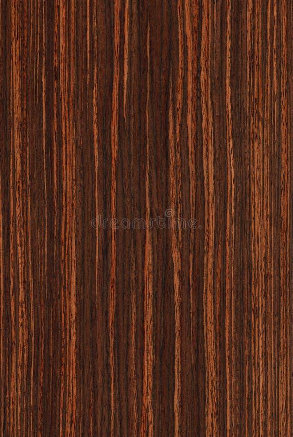 Ebbehout (houten textuur) stock afbeelding