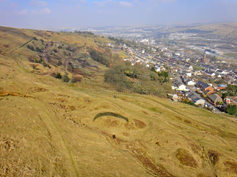 Ebbw Vale, Galles fotografie stock libere da diritti