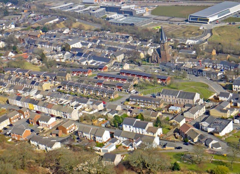 Ebbw Vale, Galles immagini stock libere da diritti