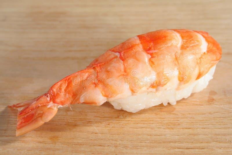 Ebi van sushi stock fotografie