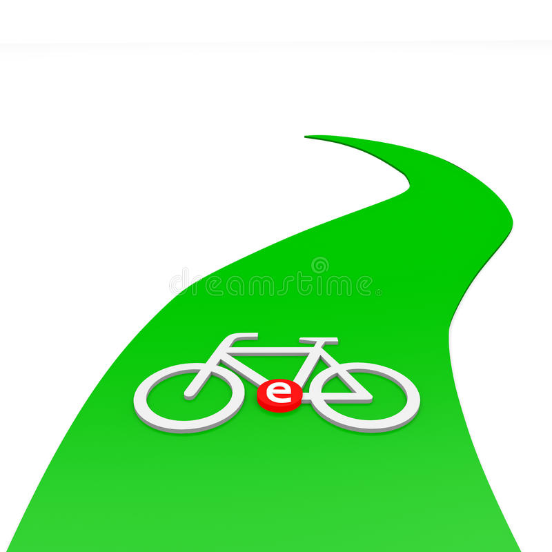 Download Ebike stock illustration. Image of people, travel, route - 31707915