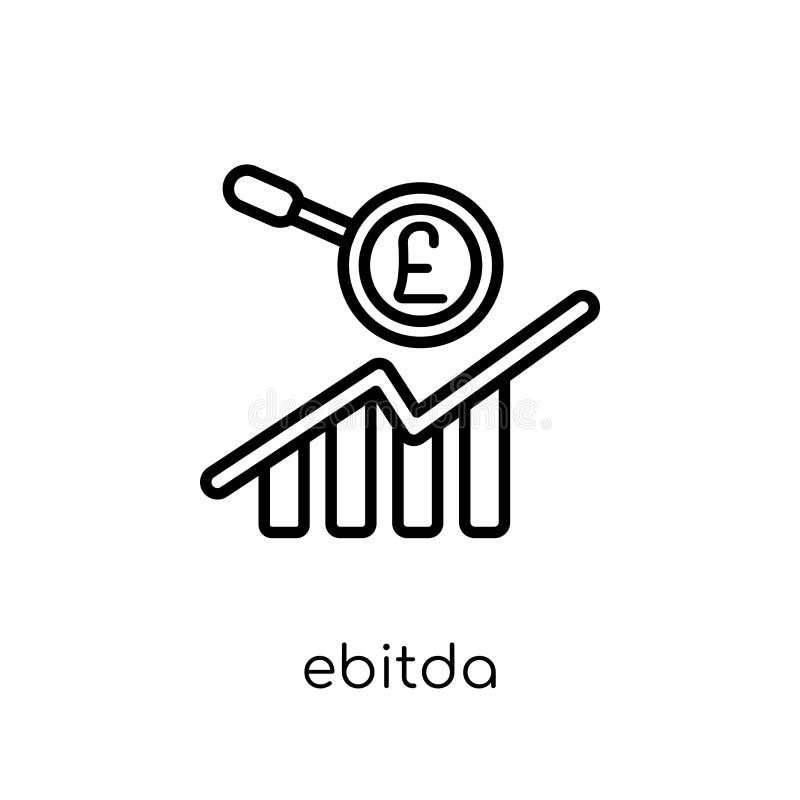 Ebitdapictogram  stock illustratie