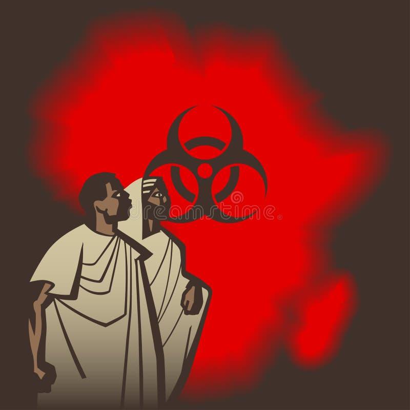 Ebola 2 ilustração royalty free