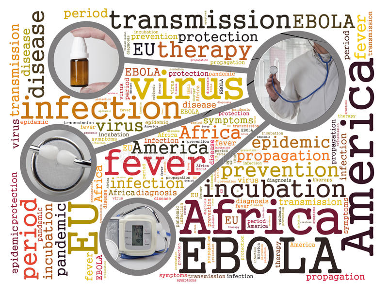 ebola стоковое изображение