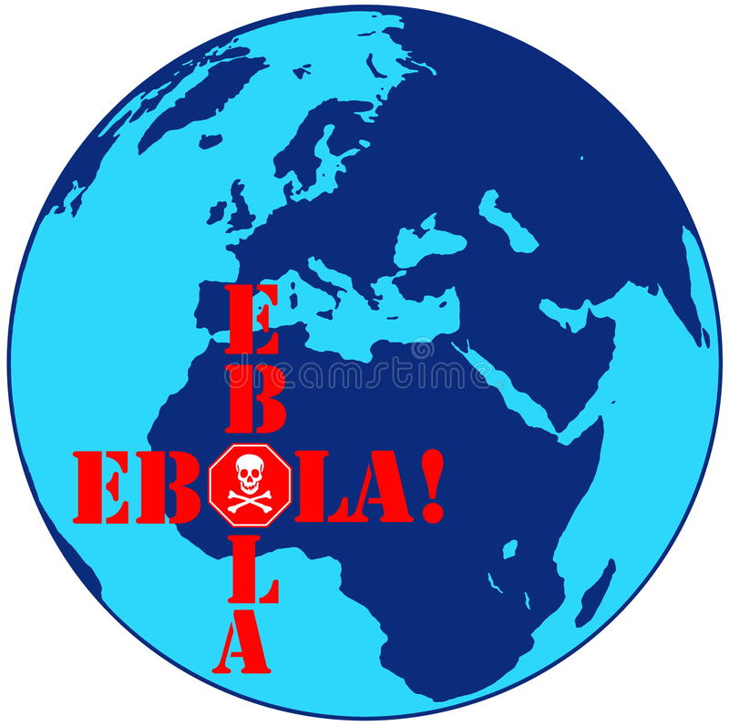 ebola royaltyfri fotografi