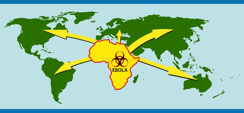 ebola royalty illustrazione gratis