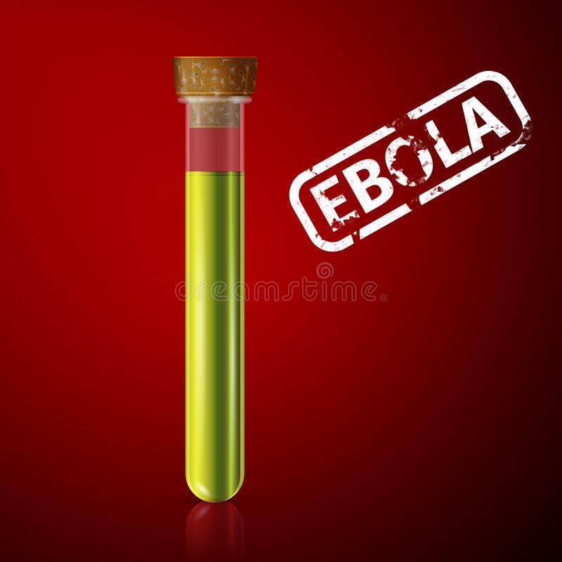 ebola illustrazione di stock