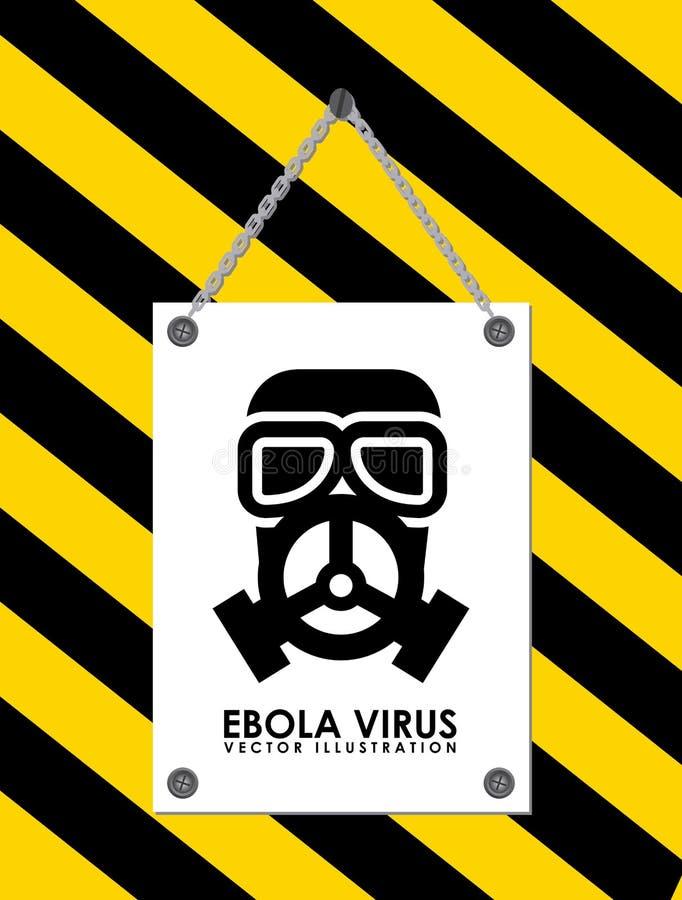 Ebola design. Ebola graphic design , illustration royalty free illustration