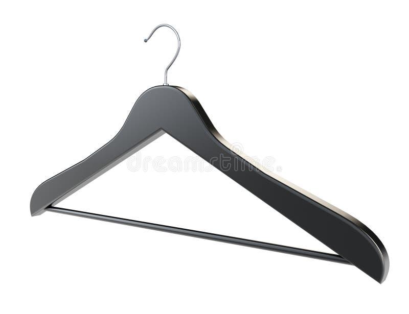 Ebony Coat Hanger illustration de vecteur