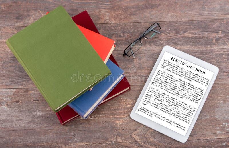Ebook概念 免版税图库摄影