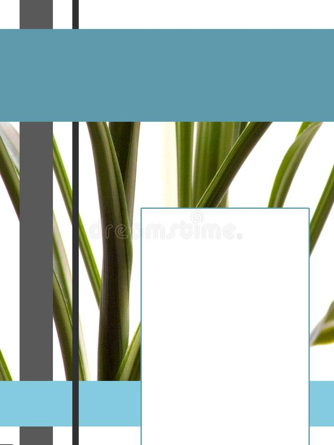 eBook盖子的自然概念 免版税库存照片