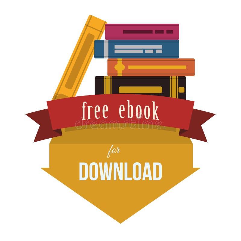 EBook设计 向量例证