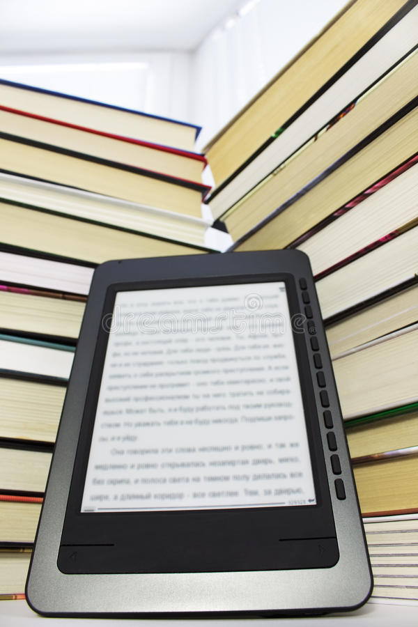 ebook阅读程序 库存照片