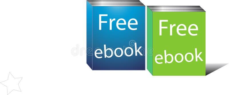 ebook ελεύθερος διανυσματική απεικόνιση
