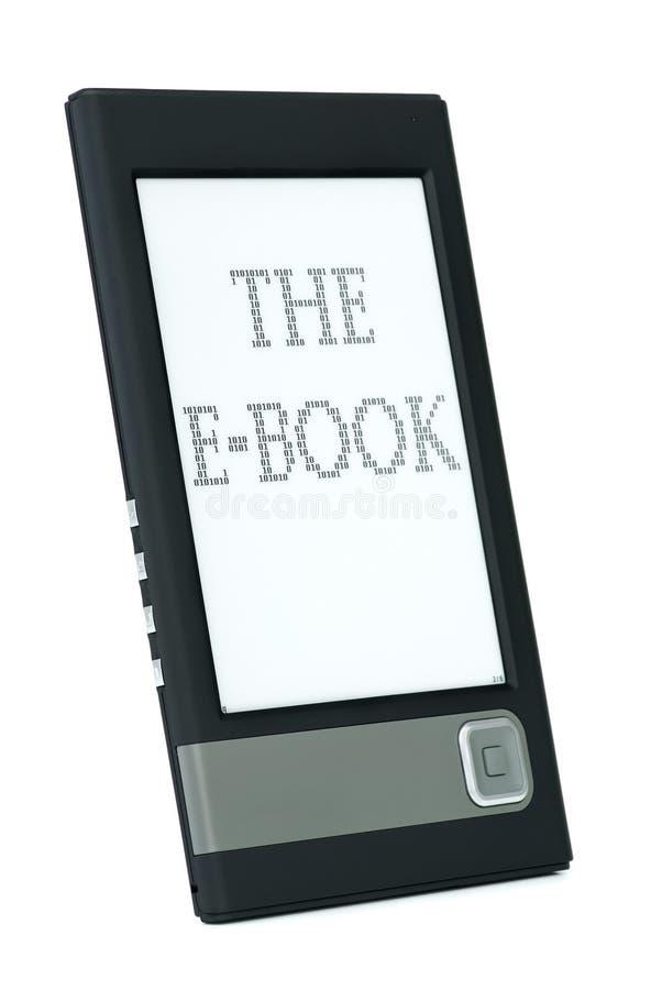 ebook σύγχρονος αναγνώστης στοκ εικόνα με δικαίωμα ελεύθερης χρήσης