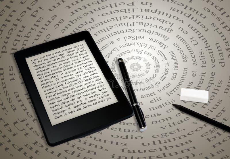 Ebook读者 库存照片