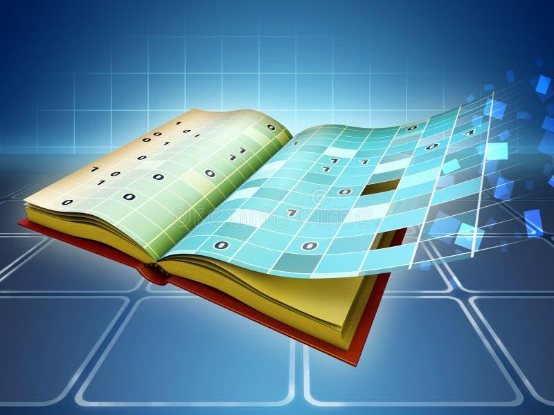 EBook illustration libre de droits