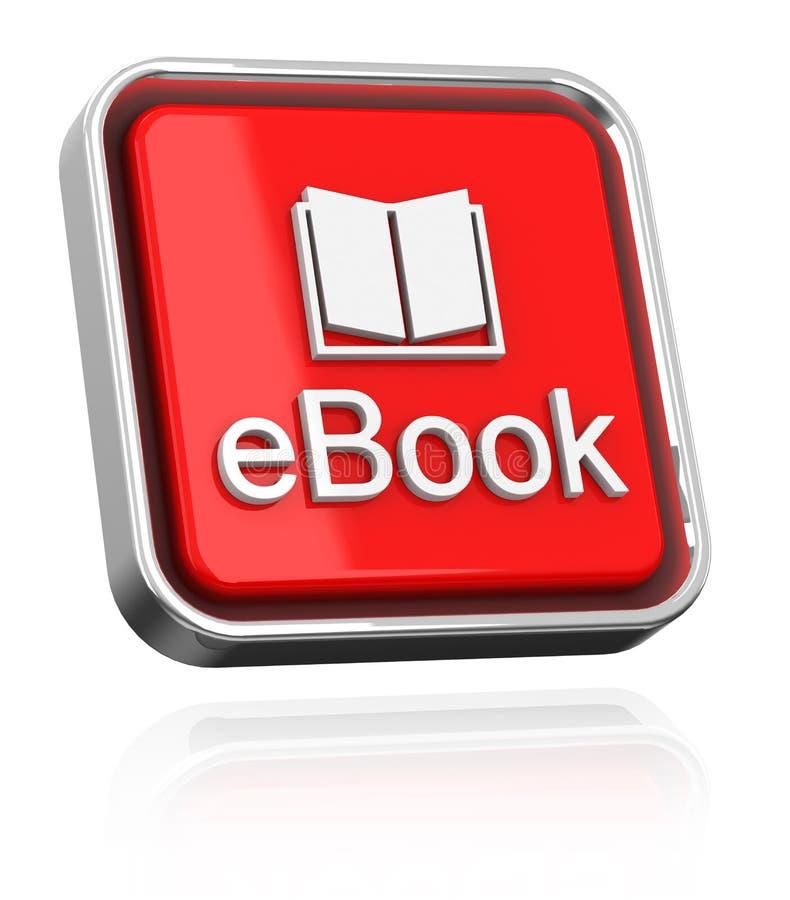 EBook иллюстрация штока