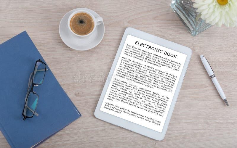 Ebook concept stock photography