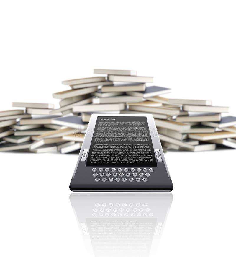 EBook - concetto di eLearning immagini stock