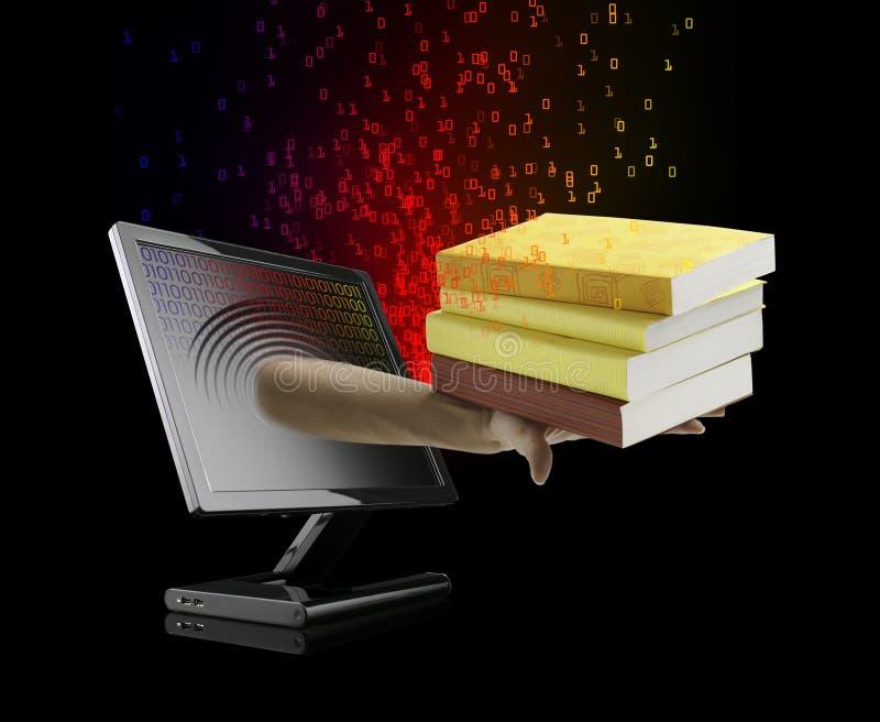 EBook - eLearning concept royalty-vrije stock foto's