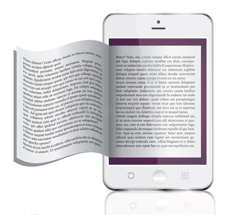 EBook isolerade på vit arkivfoton