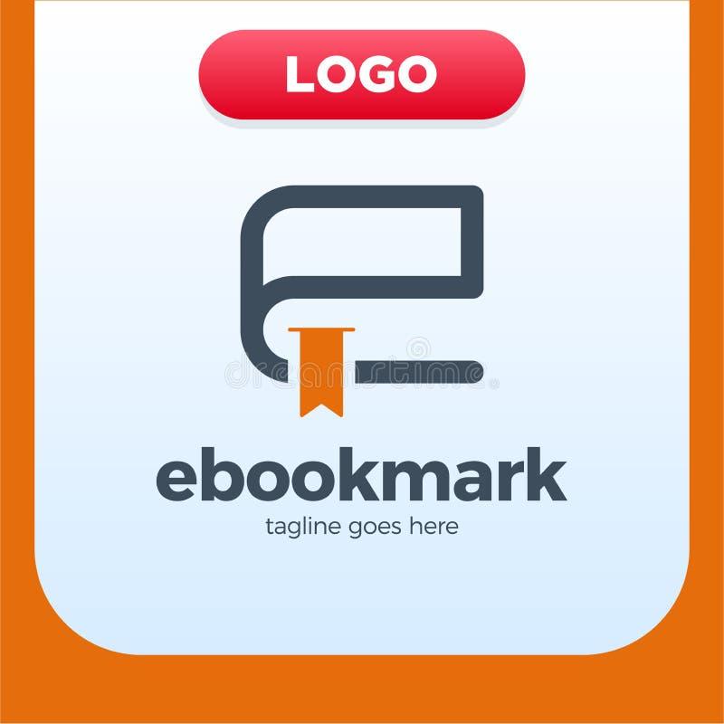 Ebook letter initial e logo design template stock vector download ebook letter initial e logo design template stock vector illustration of library bookmark spiritdancerdesigns Images