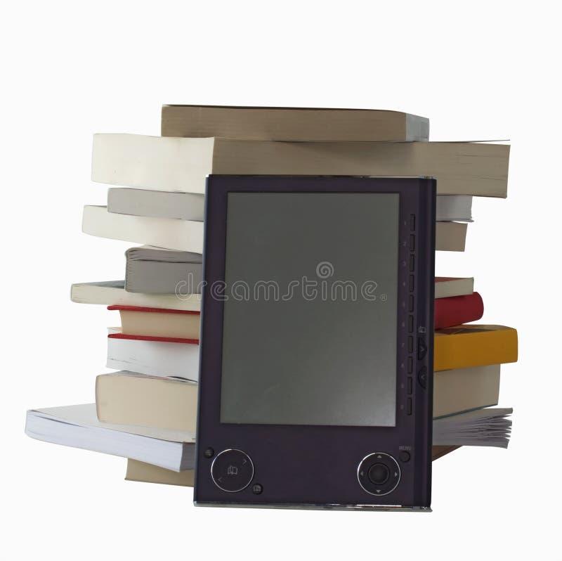 EBook y libros foto de archivo libre de regalías