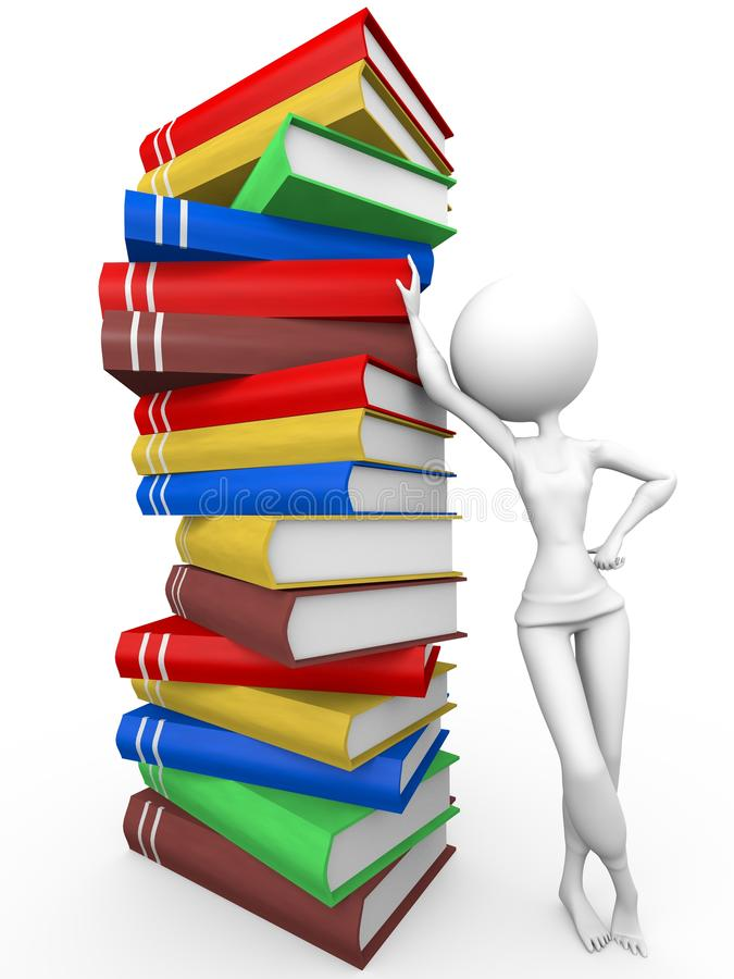 EBooks royalty-vrije illustratie