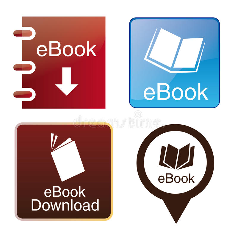 Ebooks vector illustratie