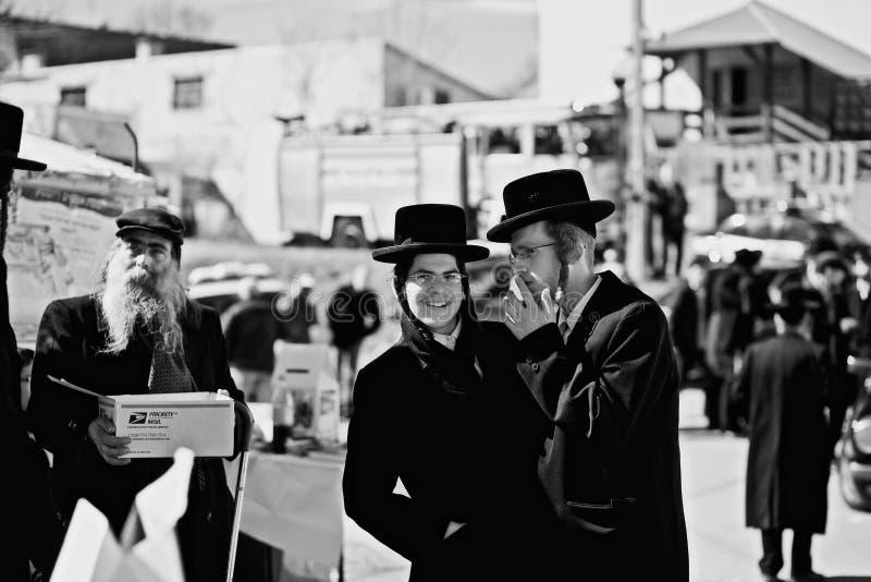 Ebrei in Polonia fotografie stock