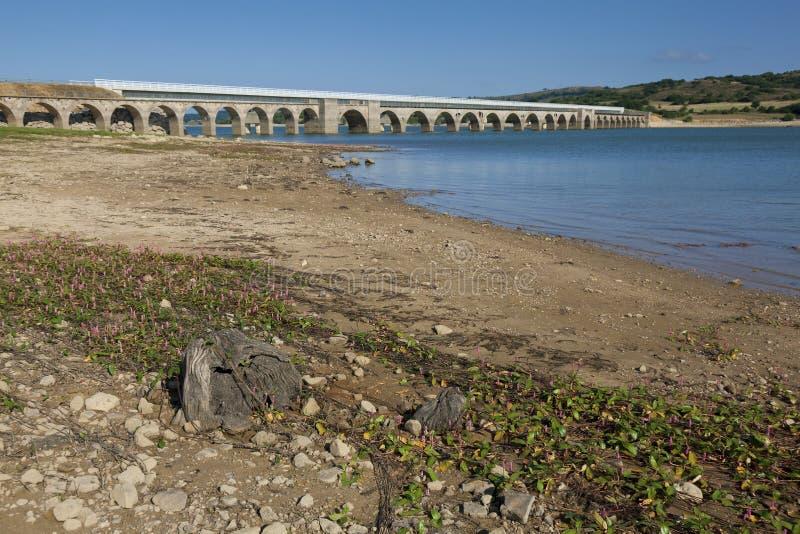 Ebro水库,布尔戈斯 库存图片