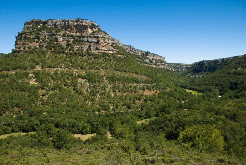 Ebro canyon royalty free stock photos