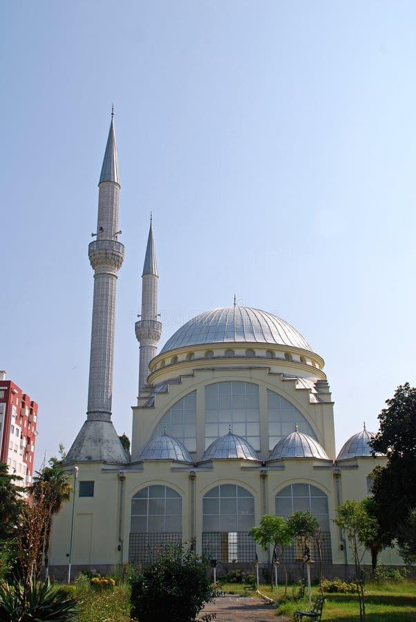 阿尔巴尼亚清真寺 库存图片