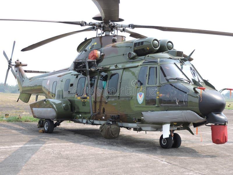 EC 725 AP karakala bojowy helikopter obrazy royalty free