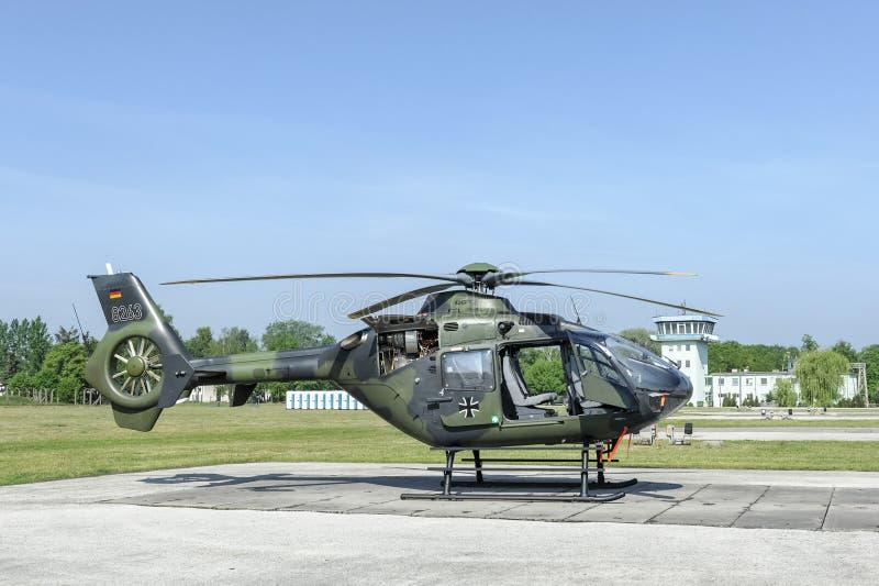 EC 135 Niemieckie siły zbrojne obraz royalty free