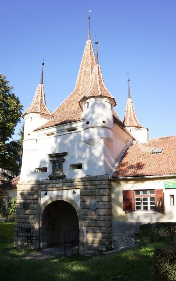 Ecaterina Tower Brasov, Rumänien royaltyfria bilder