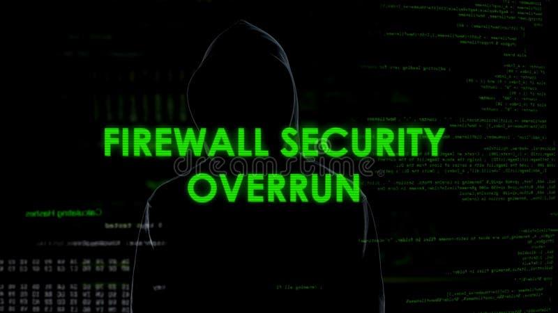 Schermo Di Protezione Di Sicurezza Di Firewall Con La ...