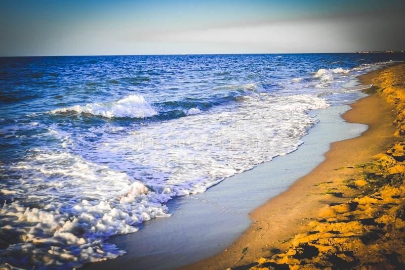 Eccitazione di mattina del Mar Nero immagini stock