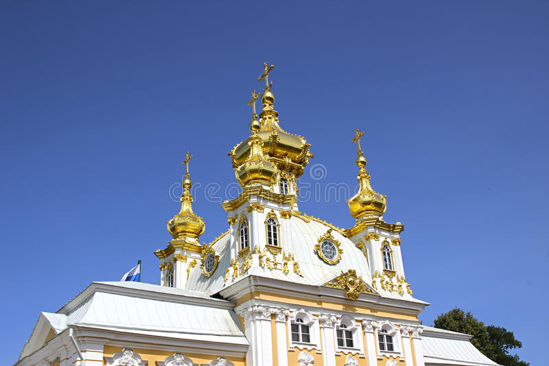 Ecclesiastical housing of the palace. On July 10, 2013 in St. Petersburg, Russia stock photo